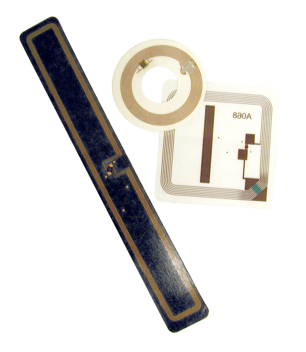 image of RFID tags