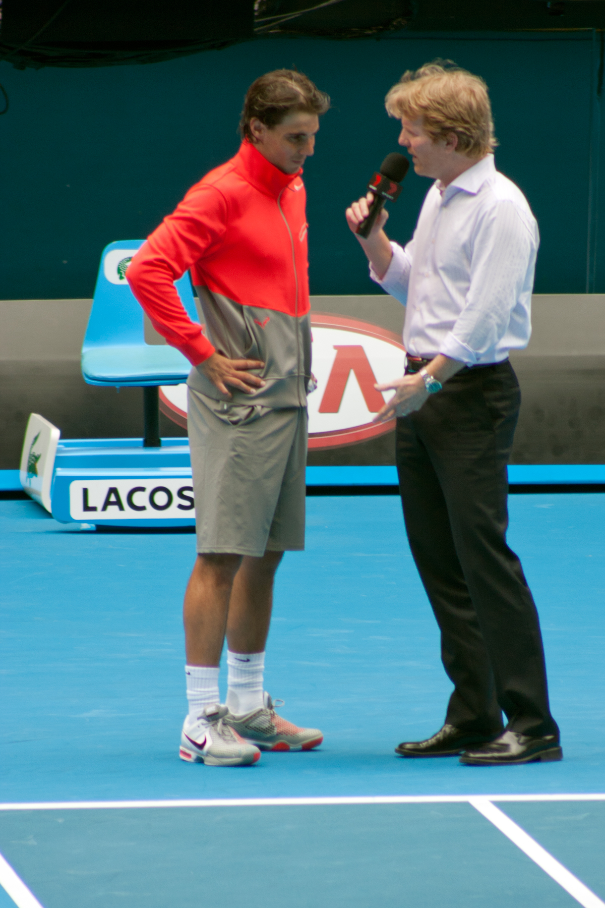 File Rafael Nadal and Jim Courier Wikimedia mons
