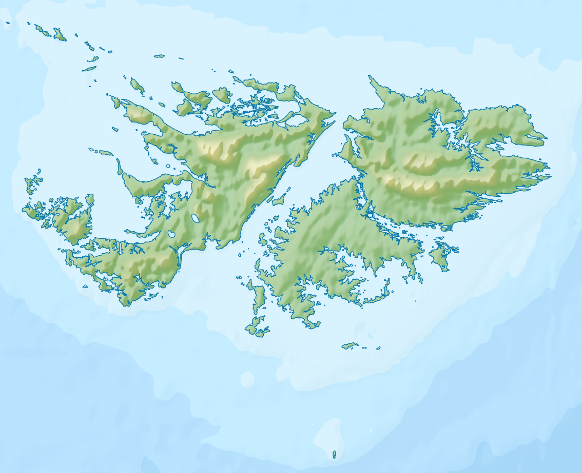 how to call the falkland islands from the us