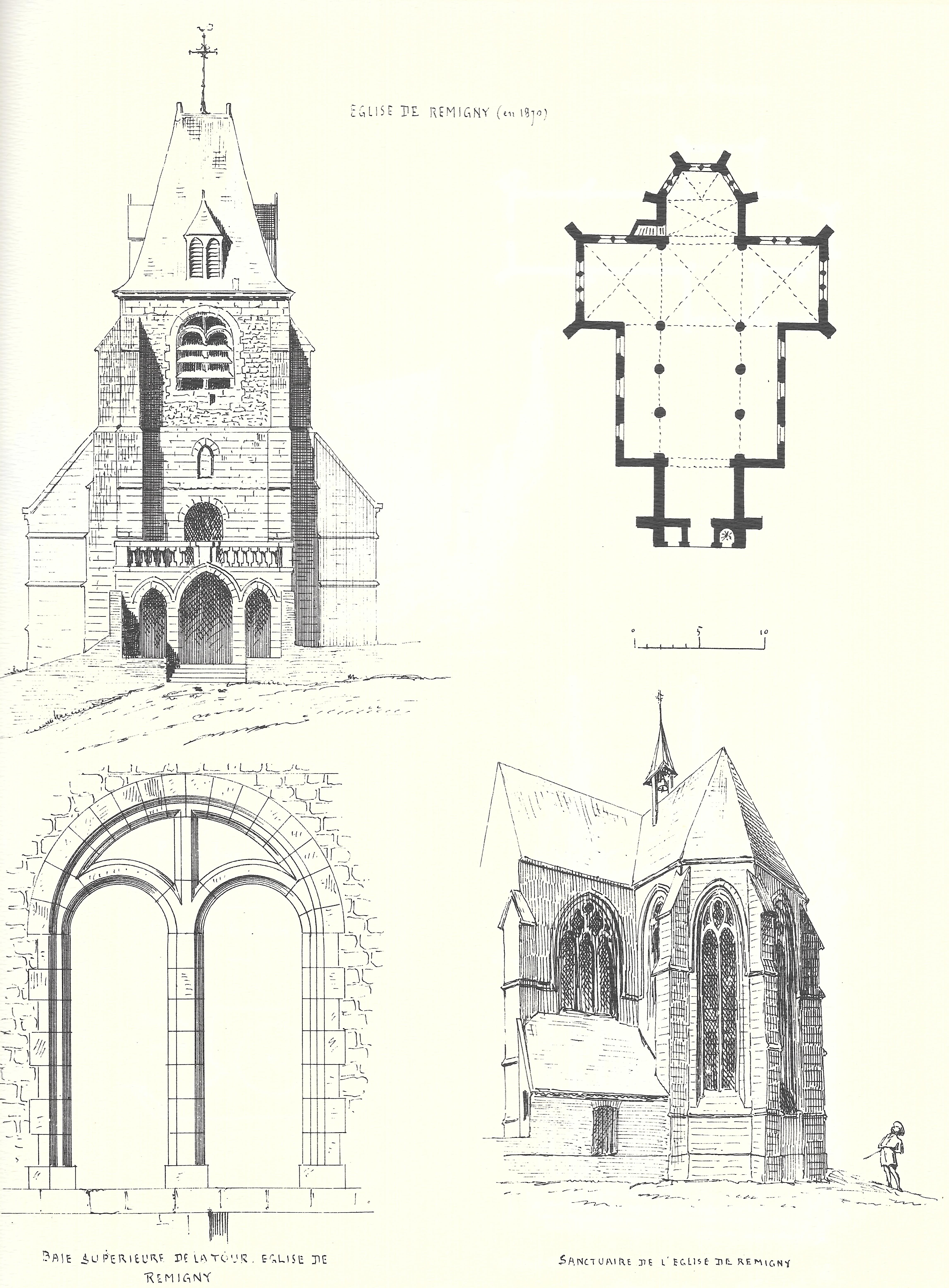 File Remigny Dessin Eglise Jpg Wikimedia Commons