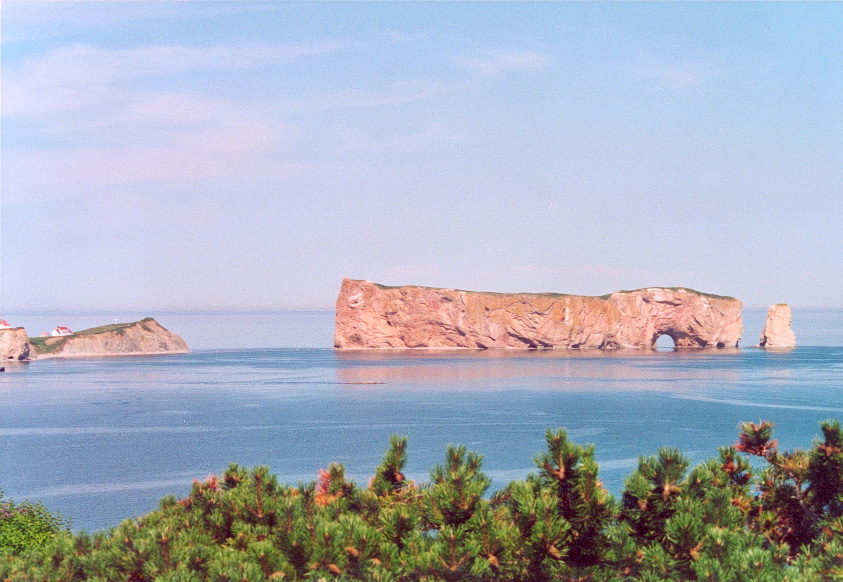 Percé Rock, Gaspésie, Quebec. Travel Writers' Secrets: Top Quebec City Travel Tips