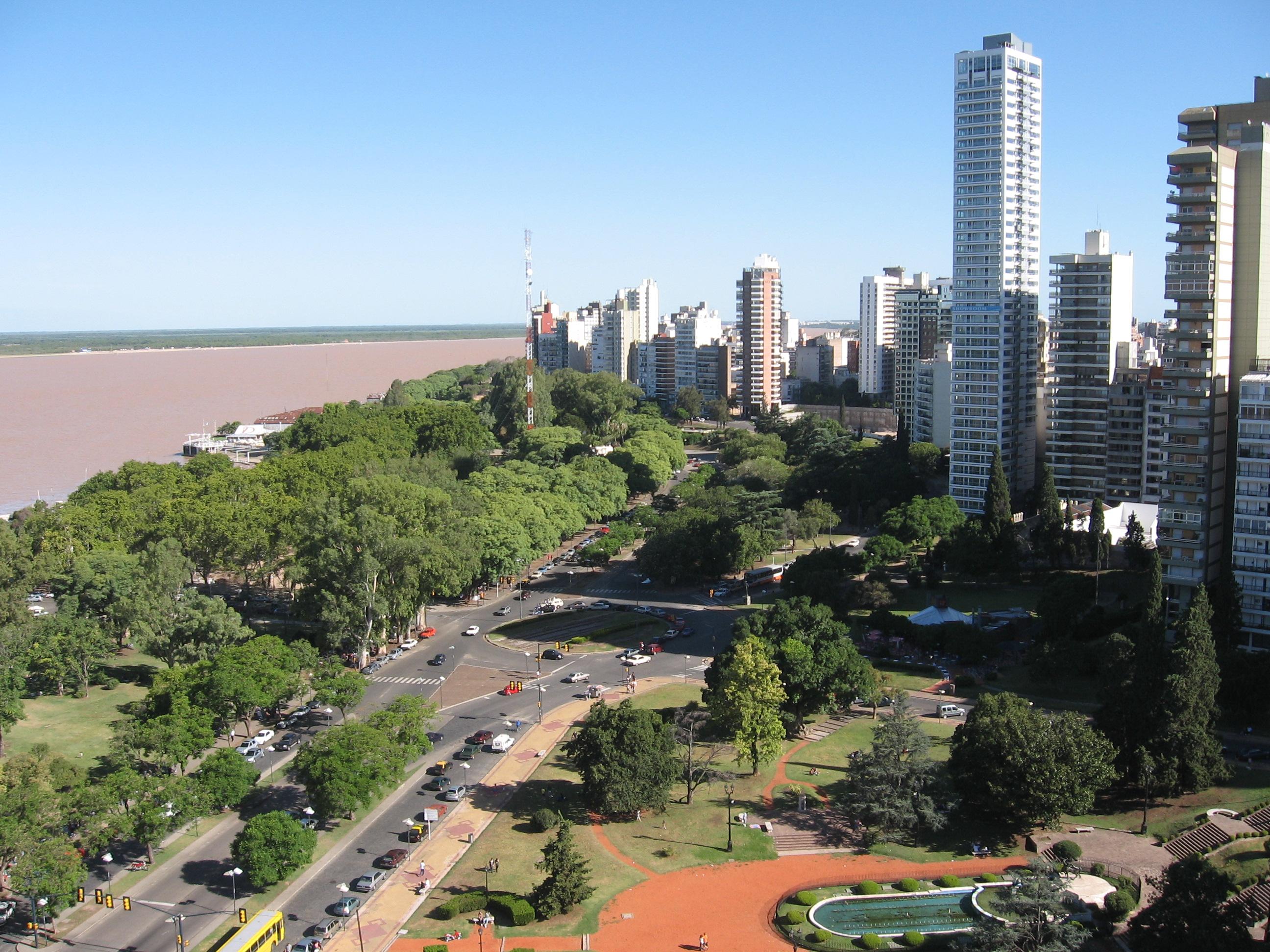 Parana Argentina  City new picture : Description Rosario y el Parana