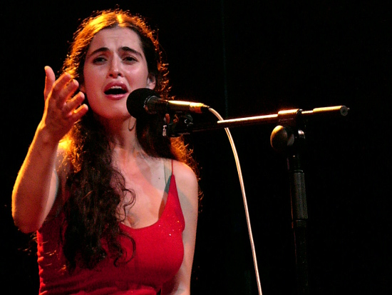 Sílvia Pérez Cruz en 2008.