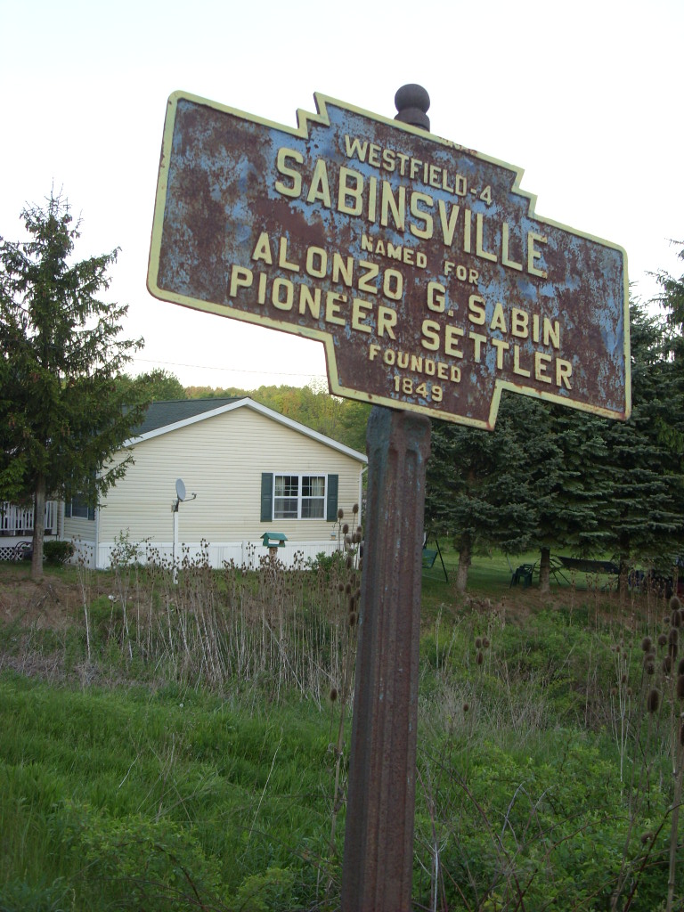 sabinsville dating Elkland location westfield location  setting, foundation repair, veteran plaques , lettering/dating monuments, corner markers and monument cleaning.