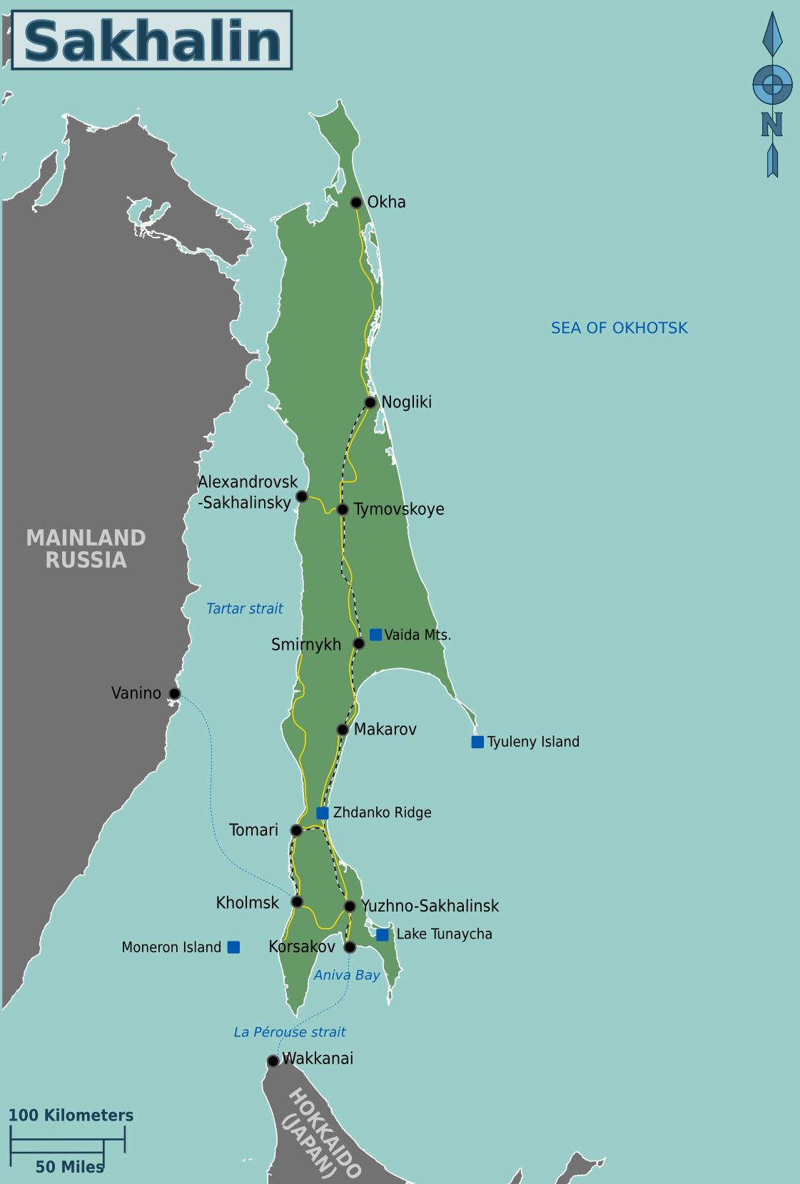 Sakhalin – Travel guide at Wikivoyage