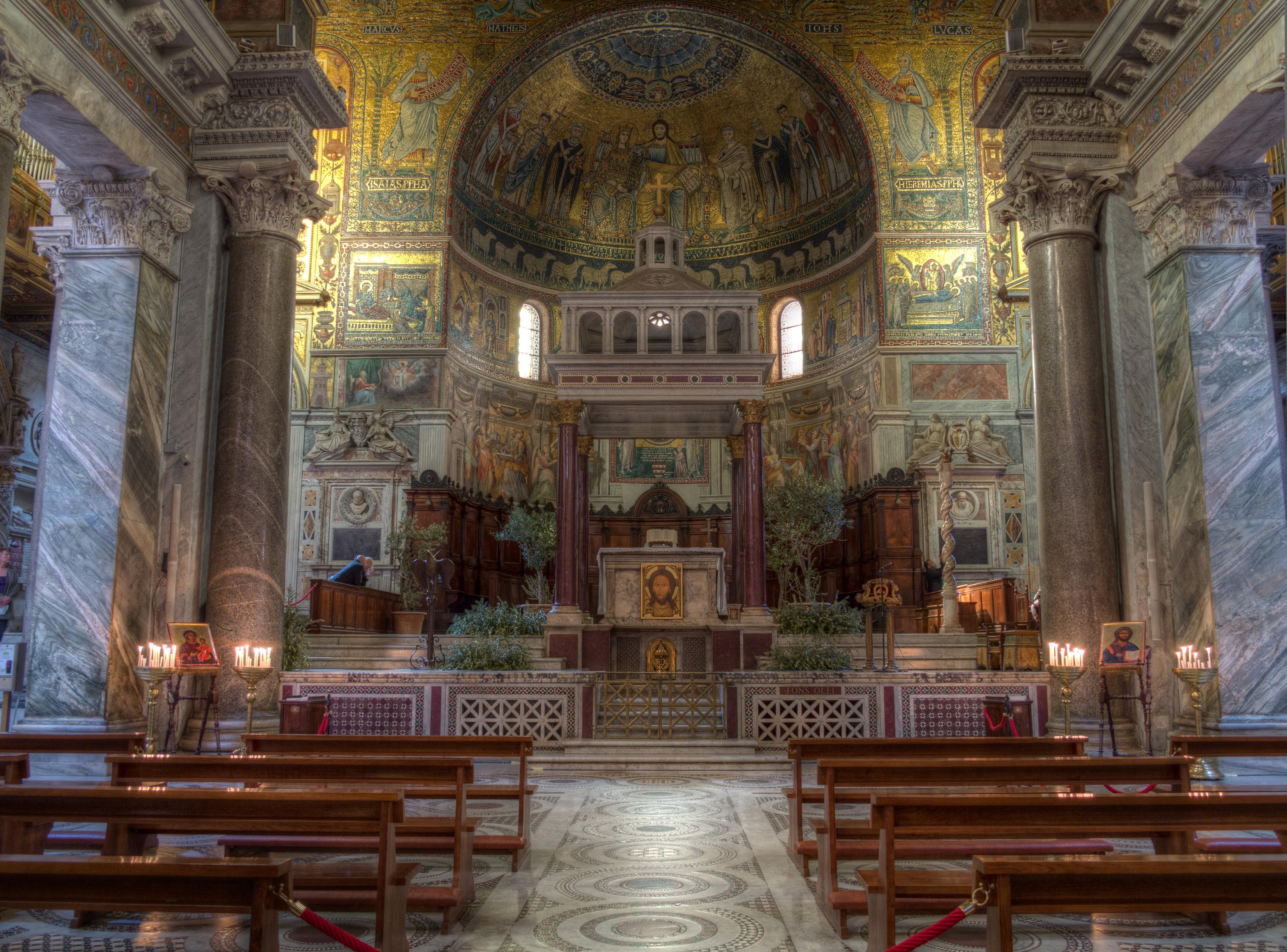 ファイル santa maria in trastevere roma hdr 2013 03 jpg wikipedia