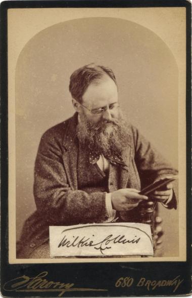 Sarony, Napoleon (1821-1896) - Wilkie Collins (1824-1889) in 1874 2.JPG