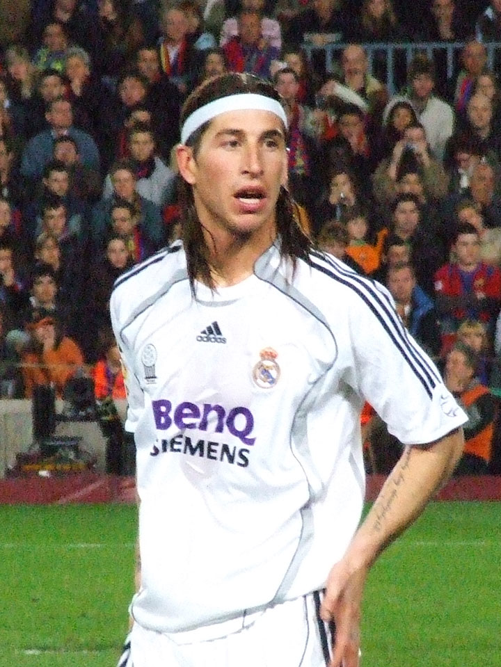 Sergio Ramos Real Madrid Football Team