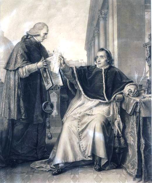 Signature du Concordat entre Pie VII et la France