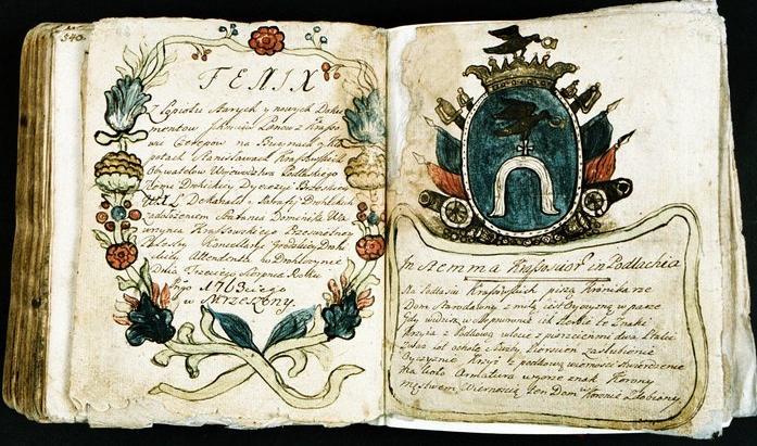 Silva Rerum of Krassowscy (Ślepowron coat of arms) family from Ziemia Drohicka in Podlasie