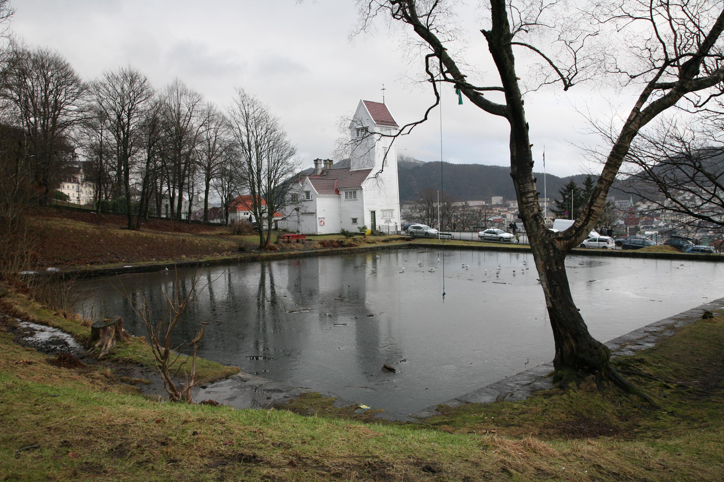 Skansedammen. Foto: Nina Aldin Thune (CC BY-SA 2.5)
