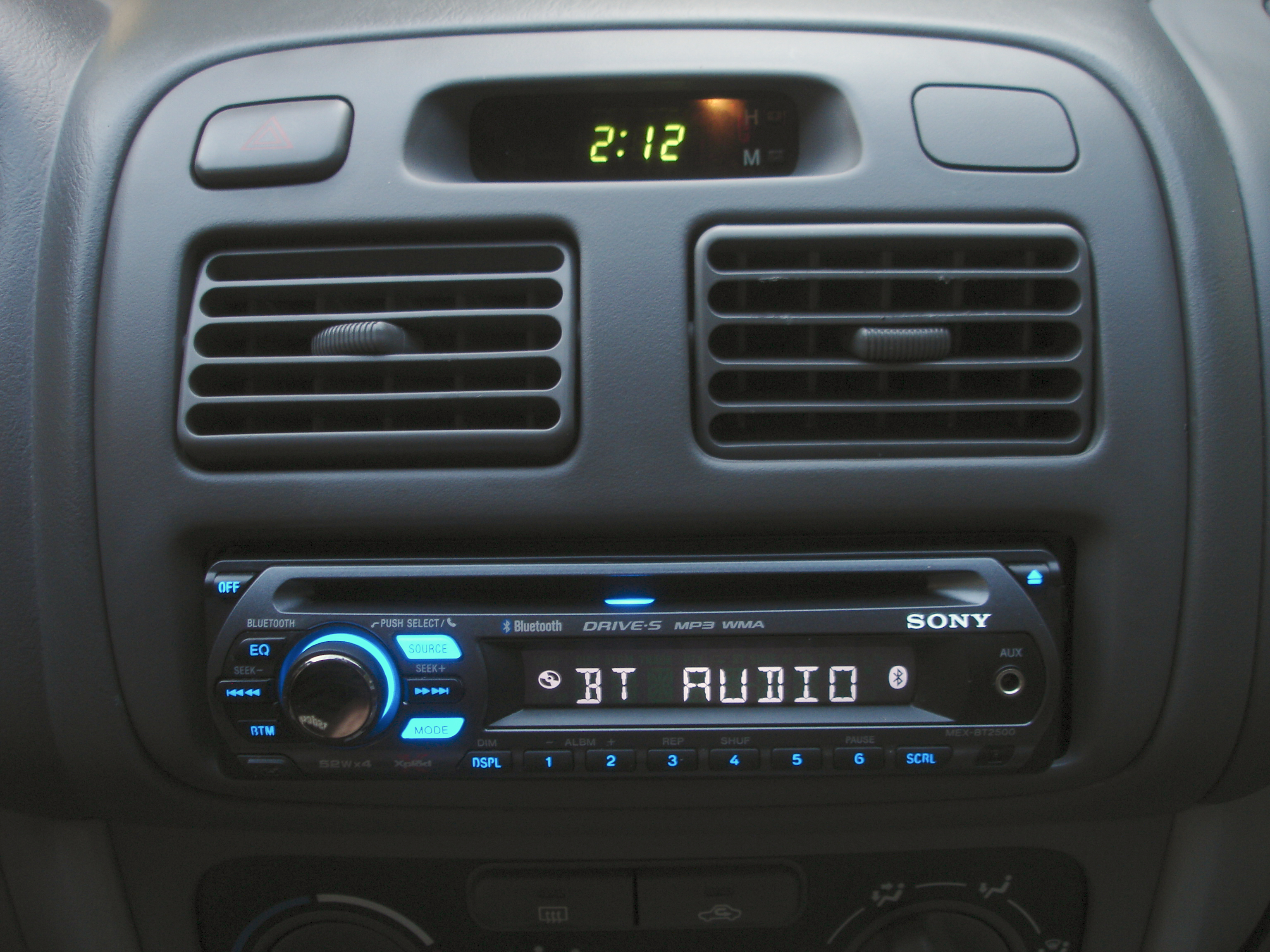 Sony dab car radio with bluetooth