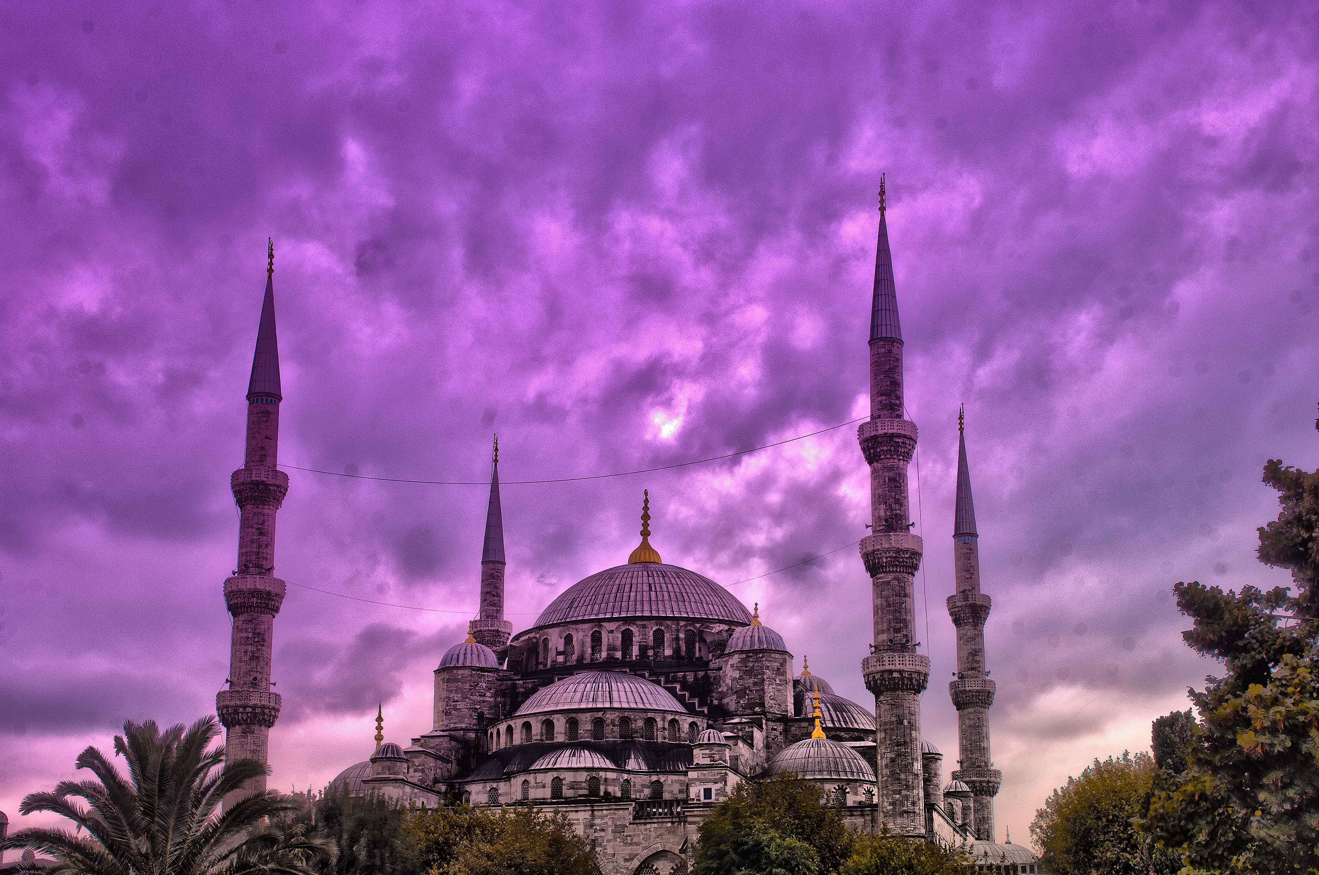 File:Sultan Ahmet Camii (Blue Mosque) HDR.jpg - Wikimedia Commons