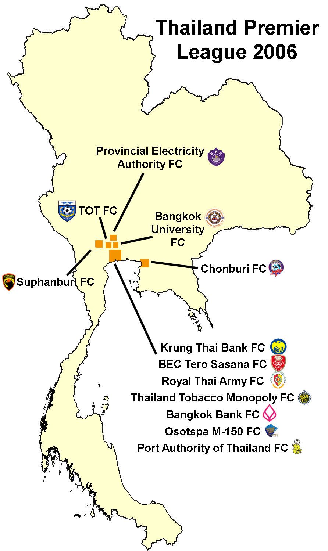 File Thailand Premier League 2006 Map Jpg Wikimedia Commons