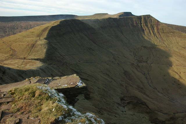 The 'Diving Board', Fan y Big - geograph.org.uk - 1102798