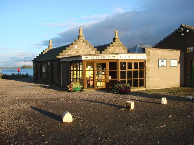 The Boathouse Bistro, Loch Leven, Kinross - geograph.org.uk - 573243