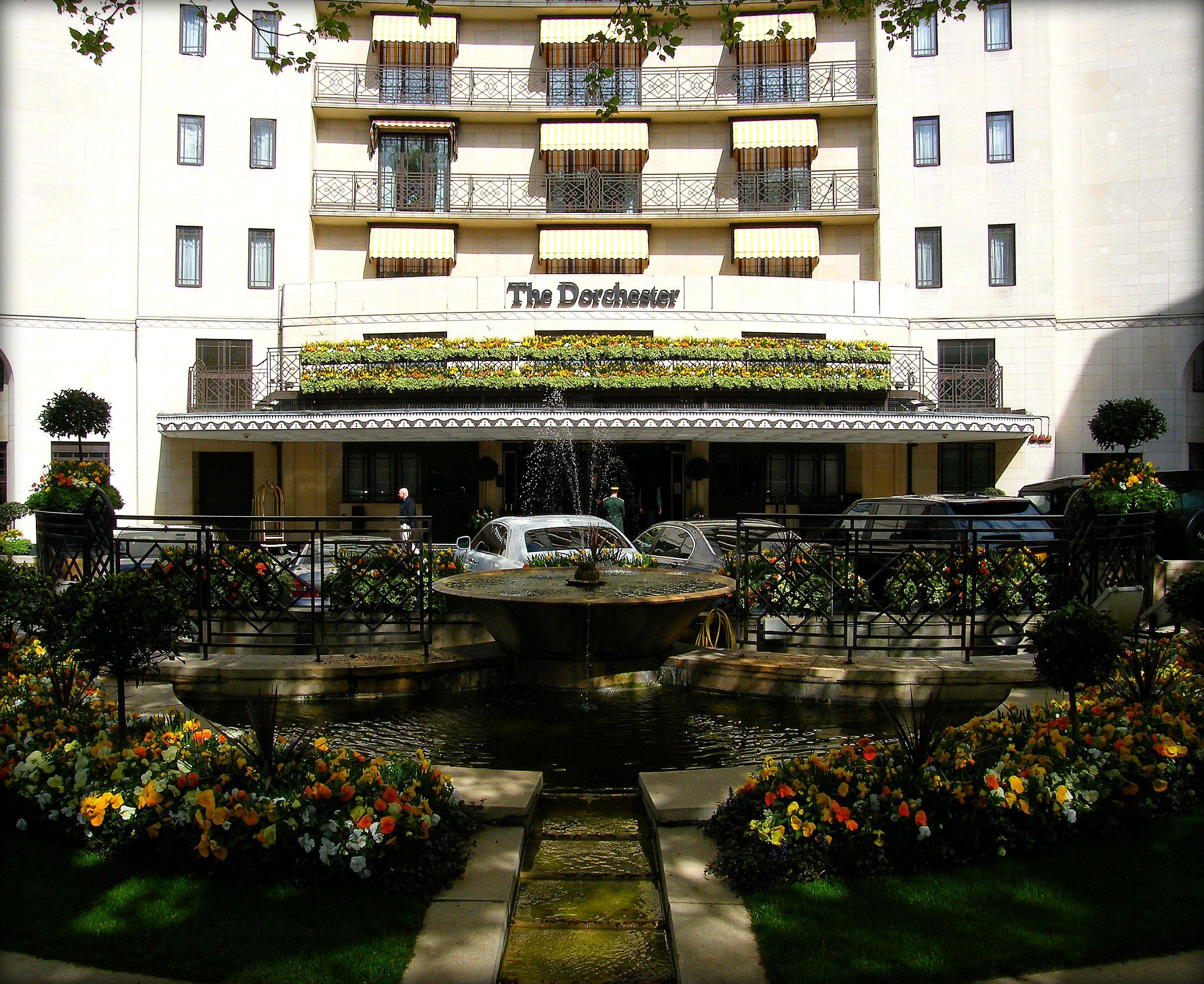 Dorchester Hotel Restaurant Menu