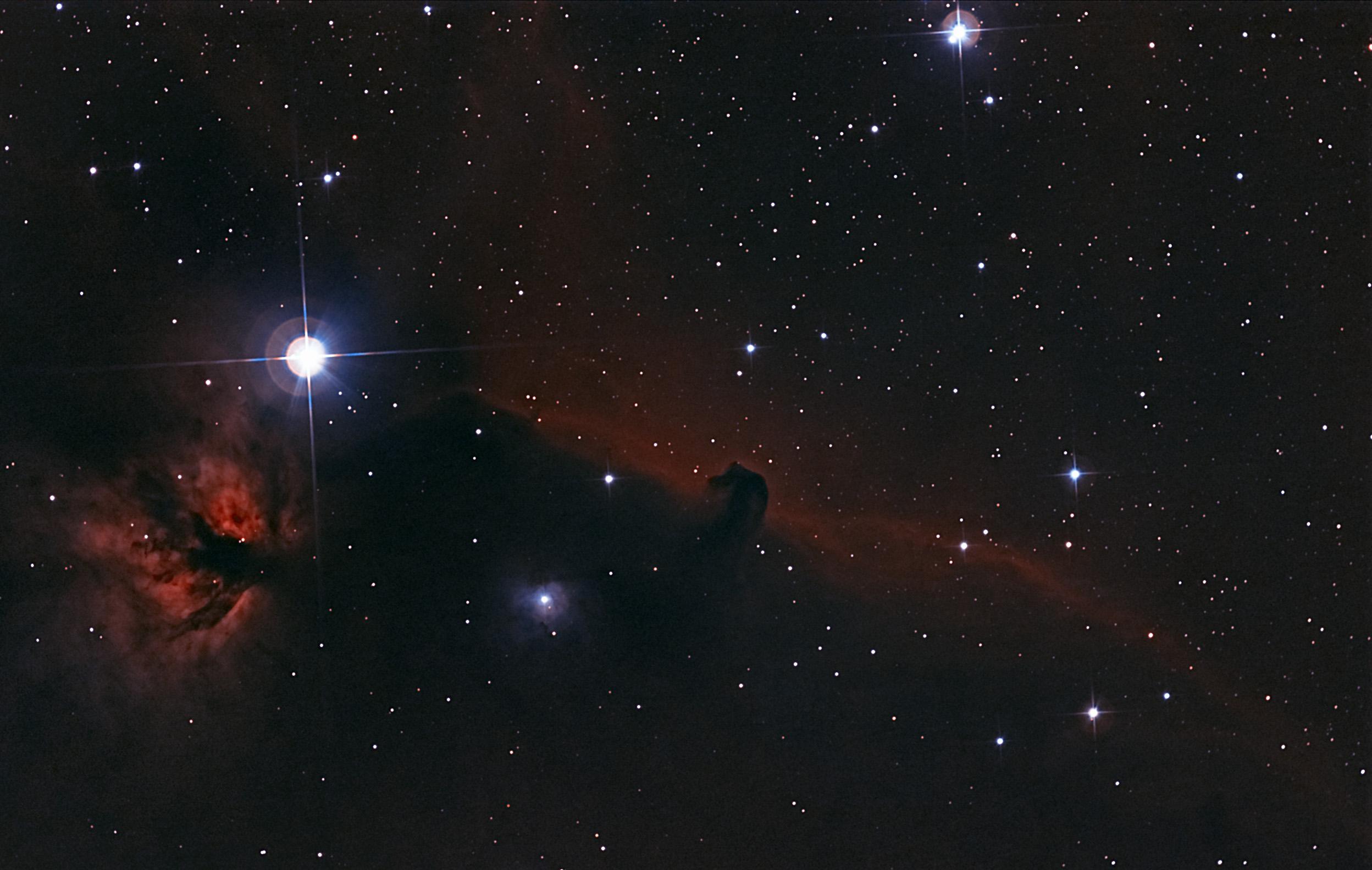 The Horsehead nebula. : space