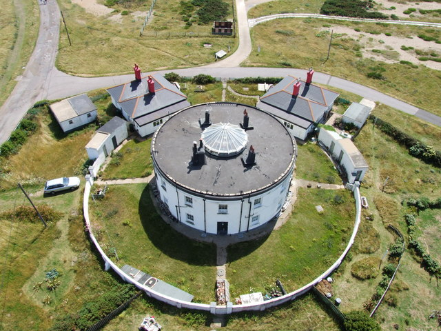 The Round House, Dungeness - geograph.org.uk - 1426461