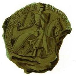 Sceau de Théobald I° de Navarre