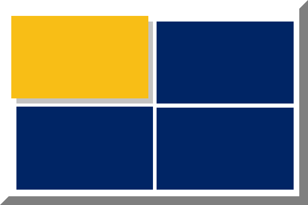 File Three Blue Squares And Yellow Square With White