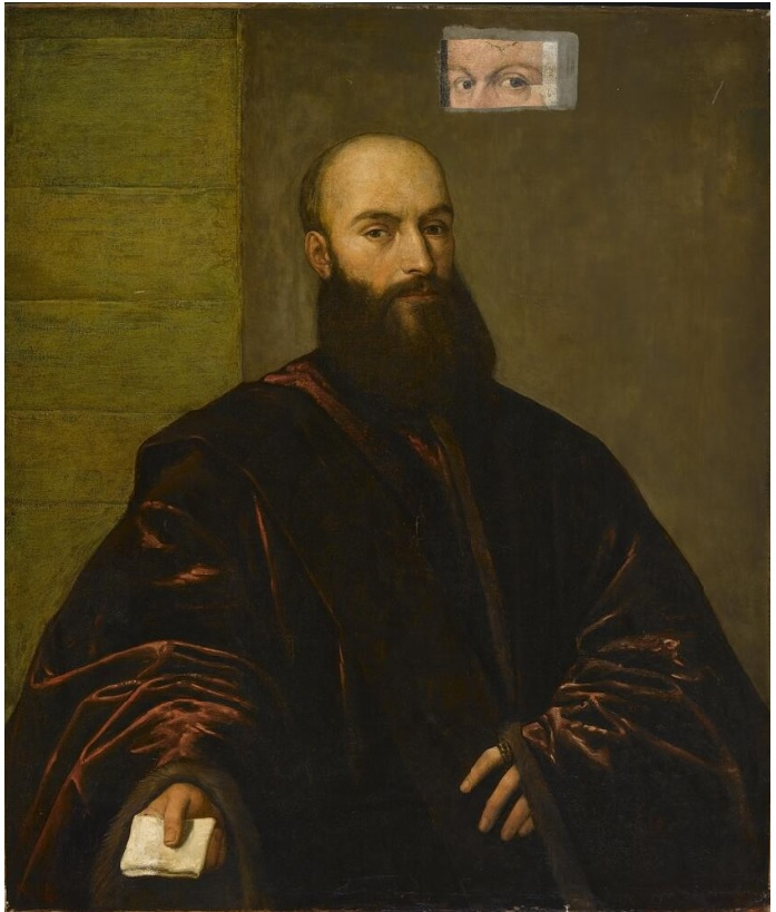 Portrait of a Venetian Gentleman (overpainted)