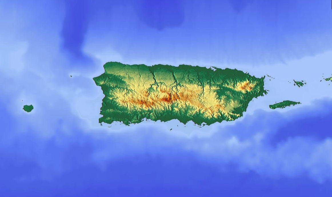 FileTopographic map of Puerto Ricojpg Wikimedia Commons