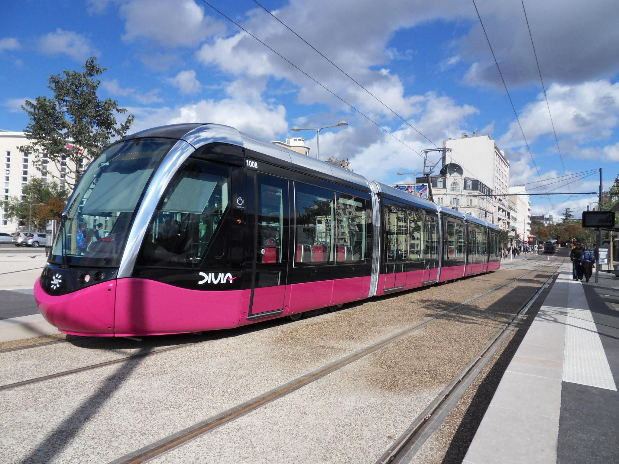 Tramway - Dijon - Transports en commun - Électrique - Ville - Urbain - SchoolMouv - Géographie - CM2