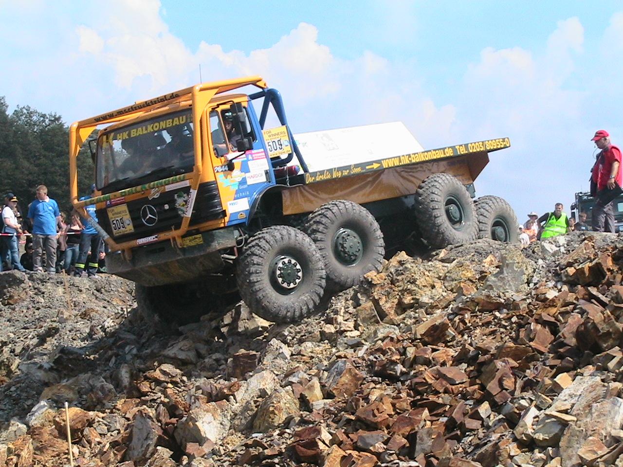Truck Trial Chříč, Vránov