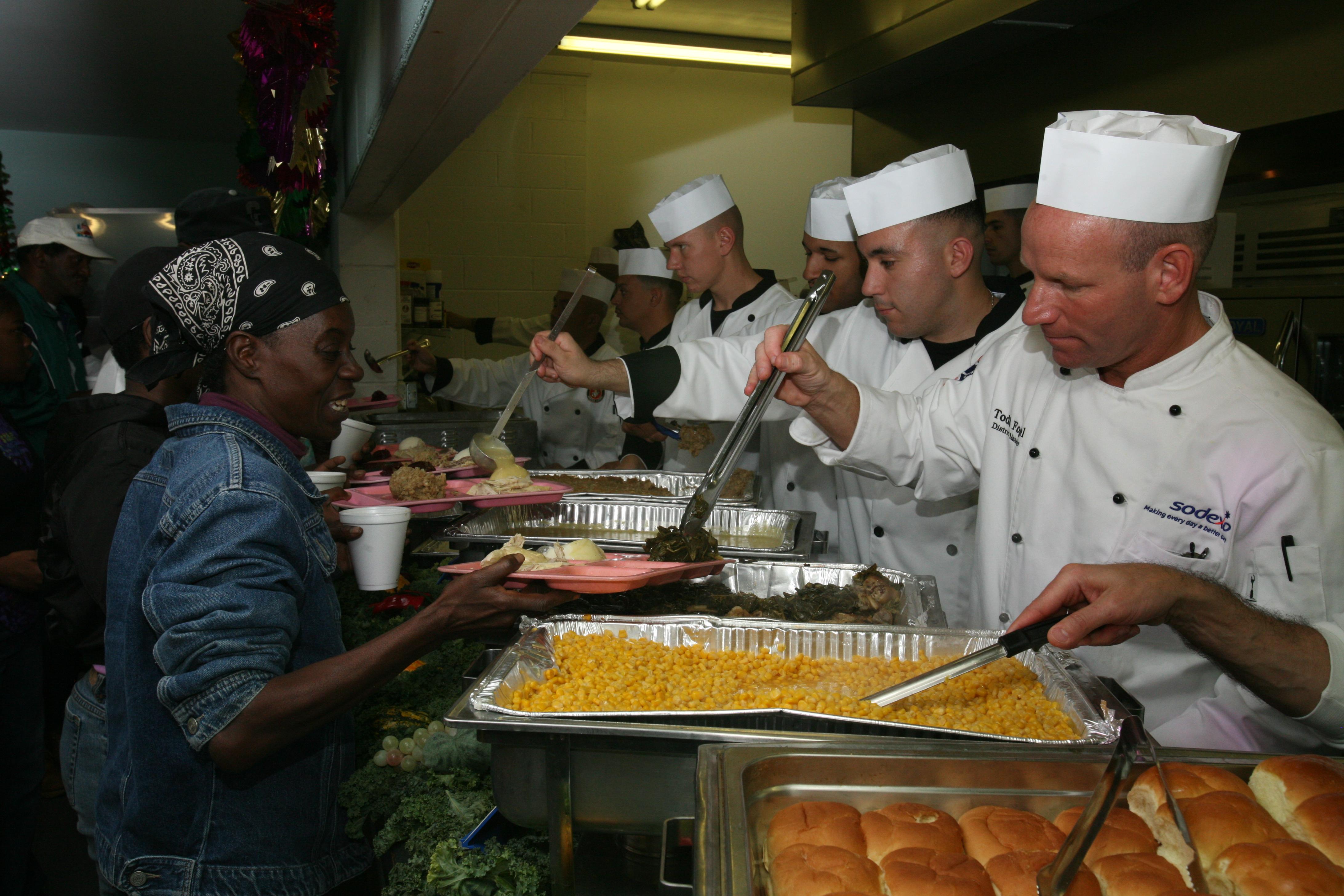 Thanksgiving Soup Kitchen In Michigan Armada