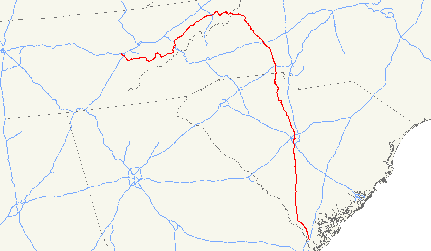 U S  Route 321 - Wikipedia