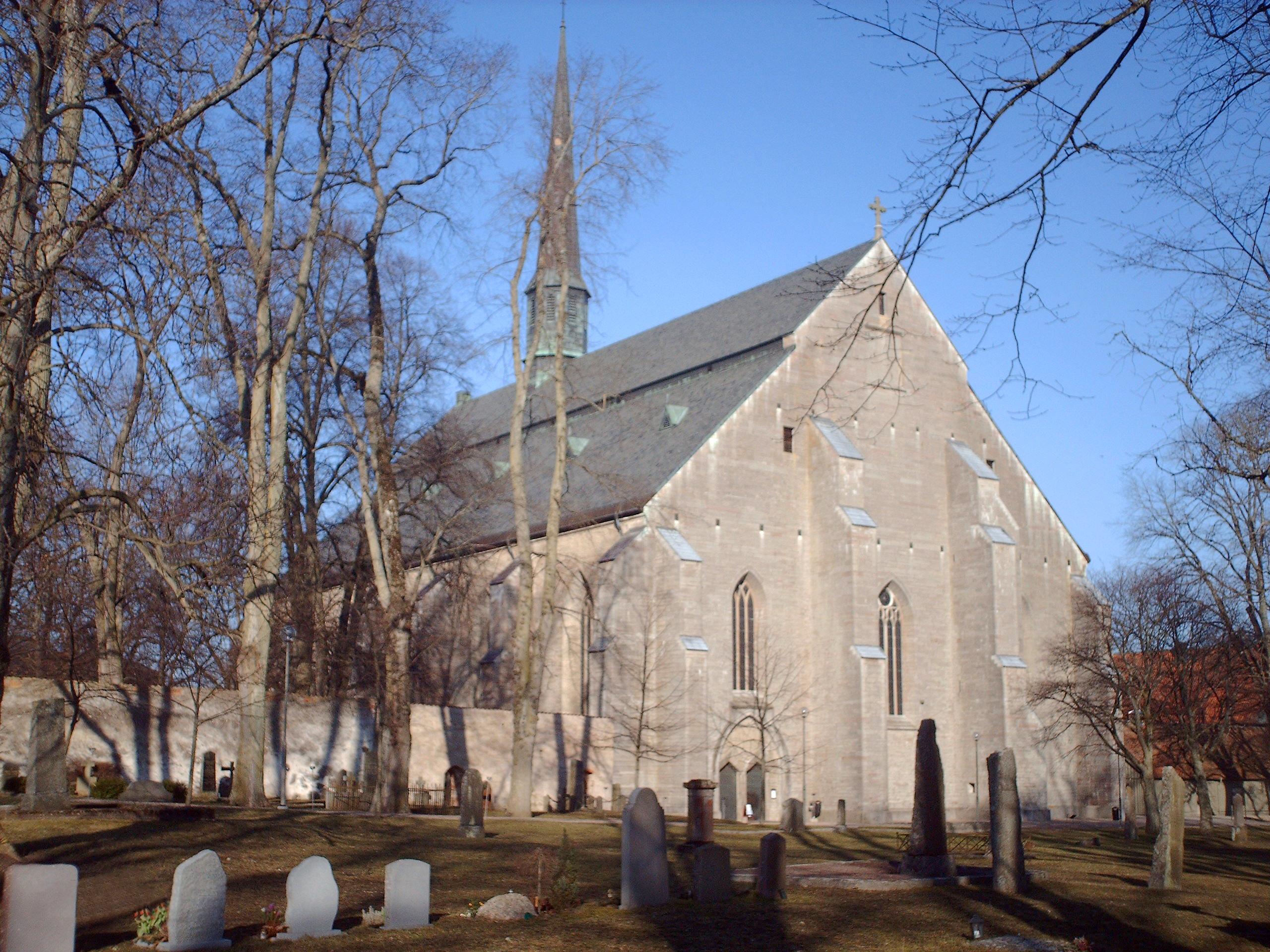 Bild av Vadstena klosterkyrka