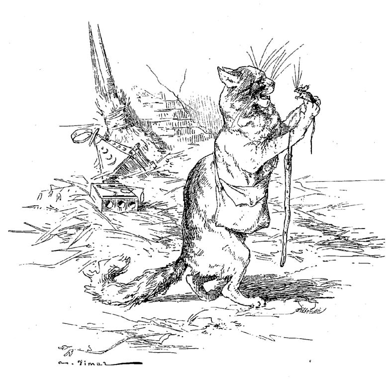 The Old Cat And The Young Mouse Wikipedia