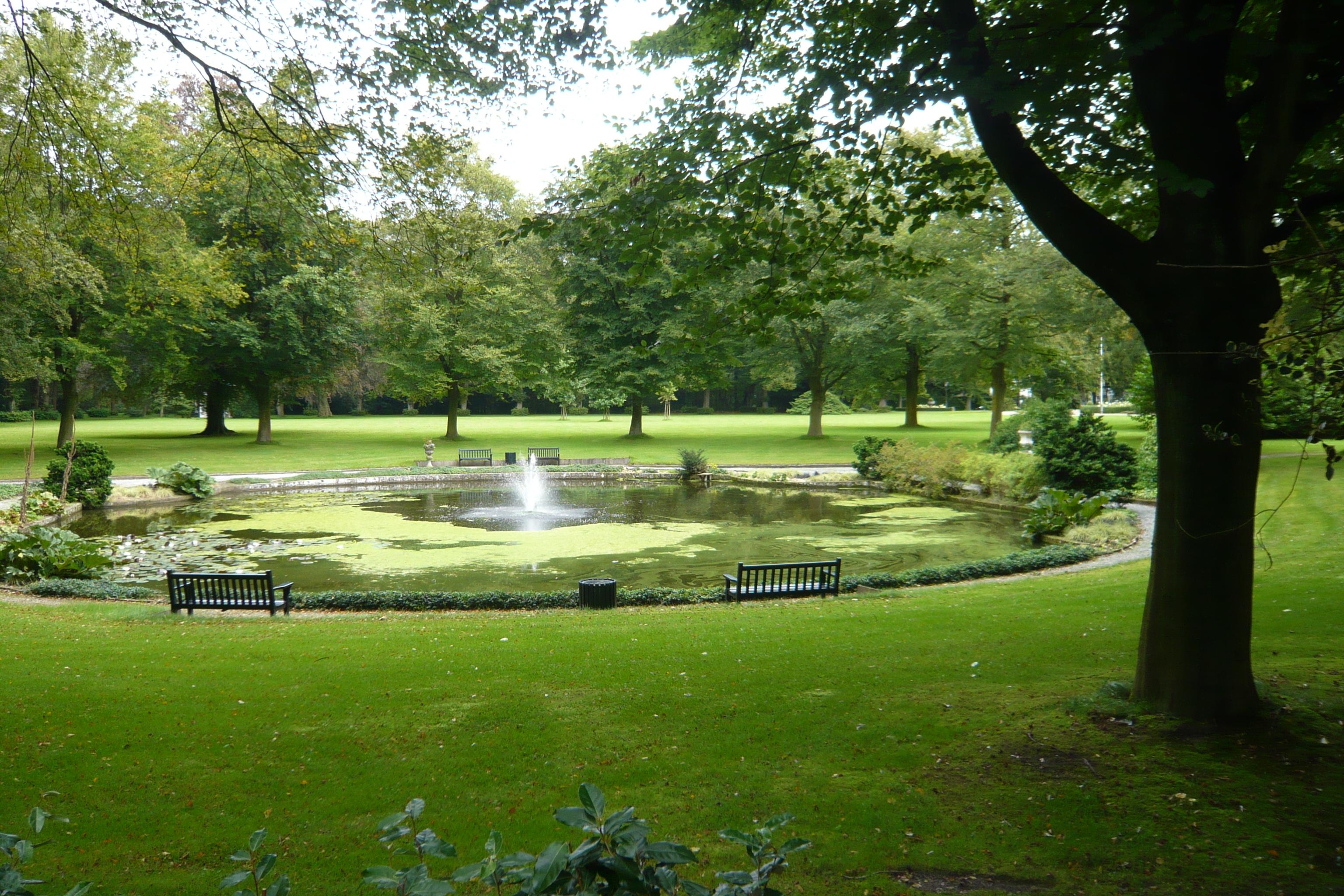Landhuis bosbeek vijver in heemstede monument for Vijver in tuin