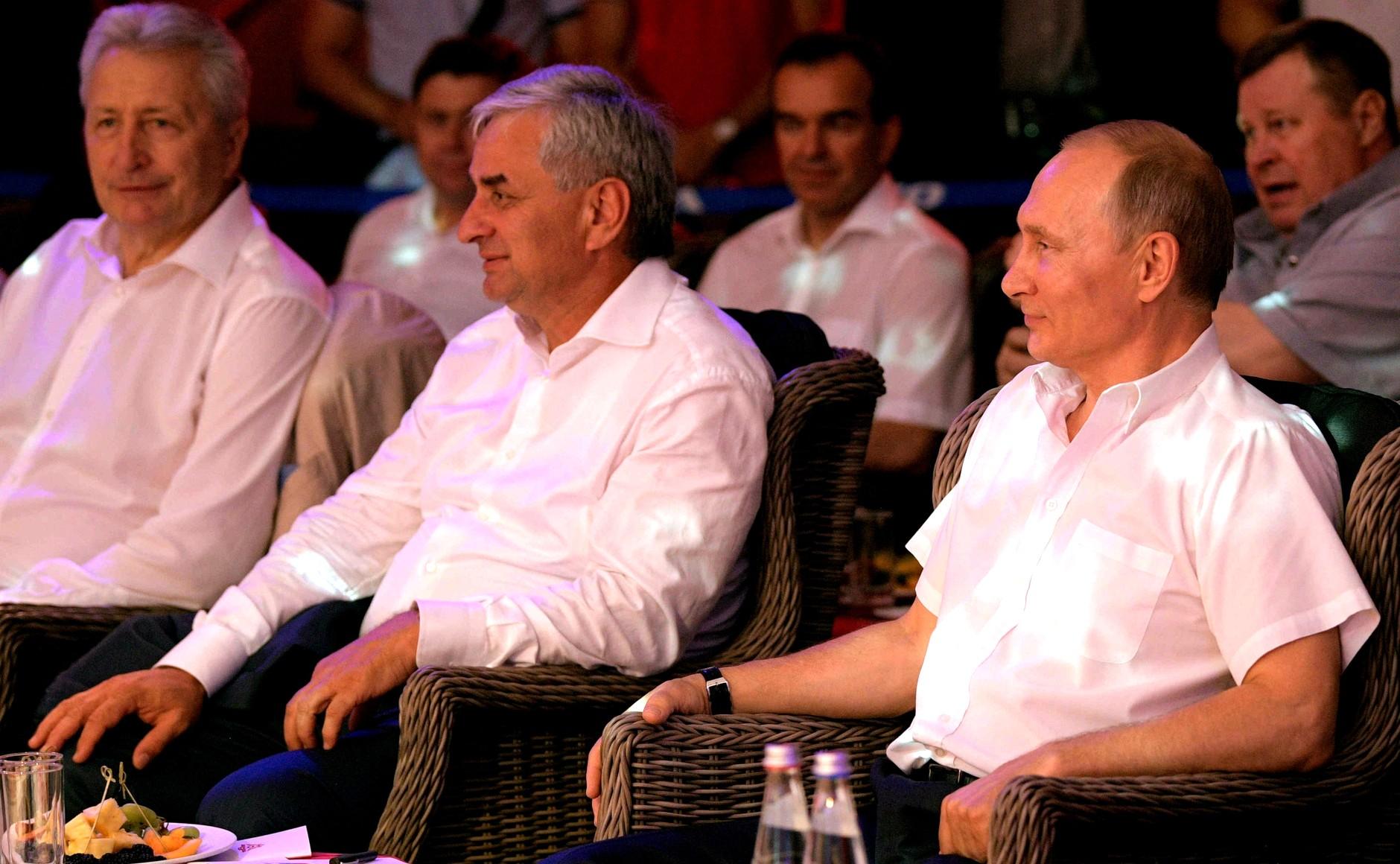 File Vladimir Putin Said At The Sambo Tournament 2017 08 09 05 Jpg Wikimedia Commons
