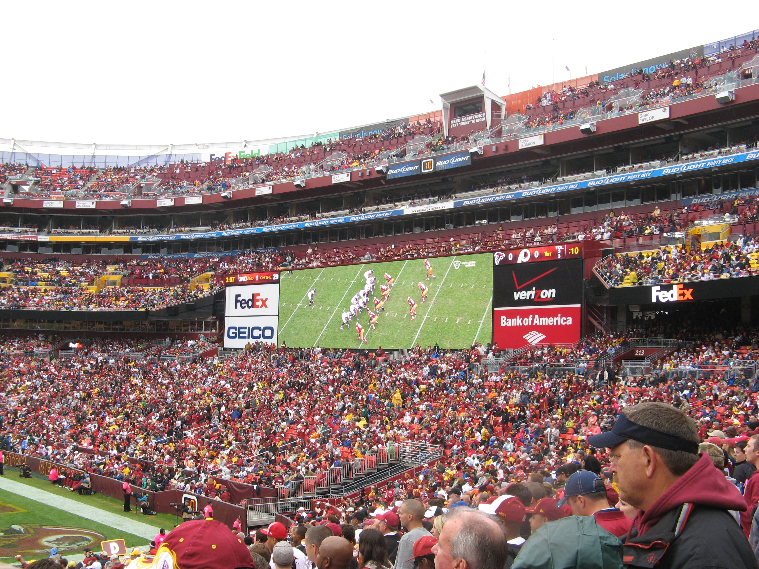 File:Washington Redskins Vs Atlanta Falcons 07.10.2012 FedEx 016.JPG