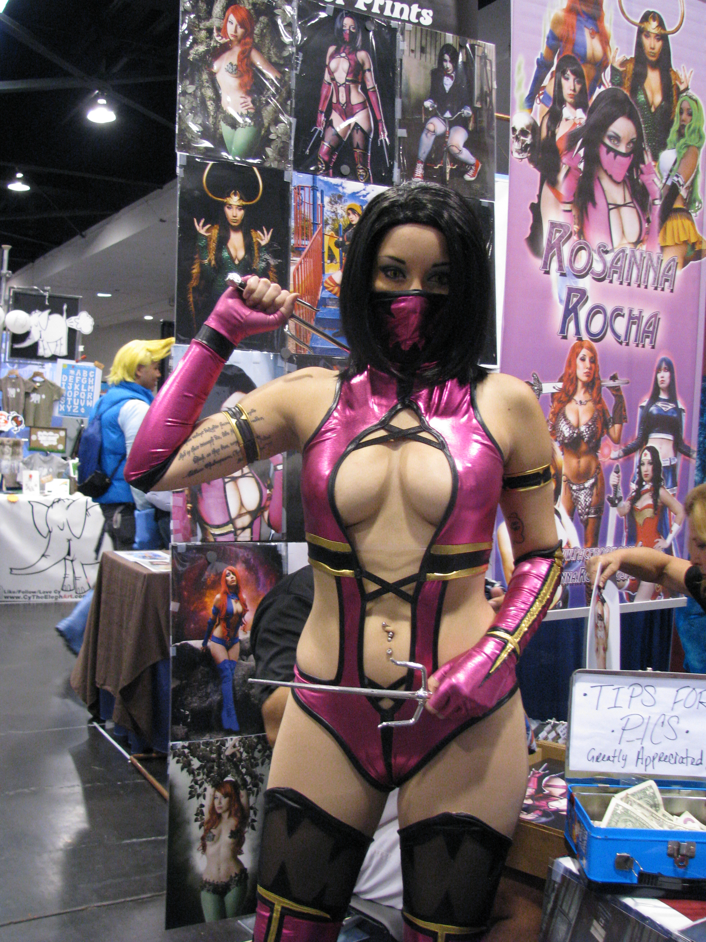 Mileena nua mortal adult woman