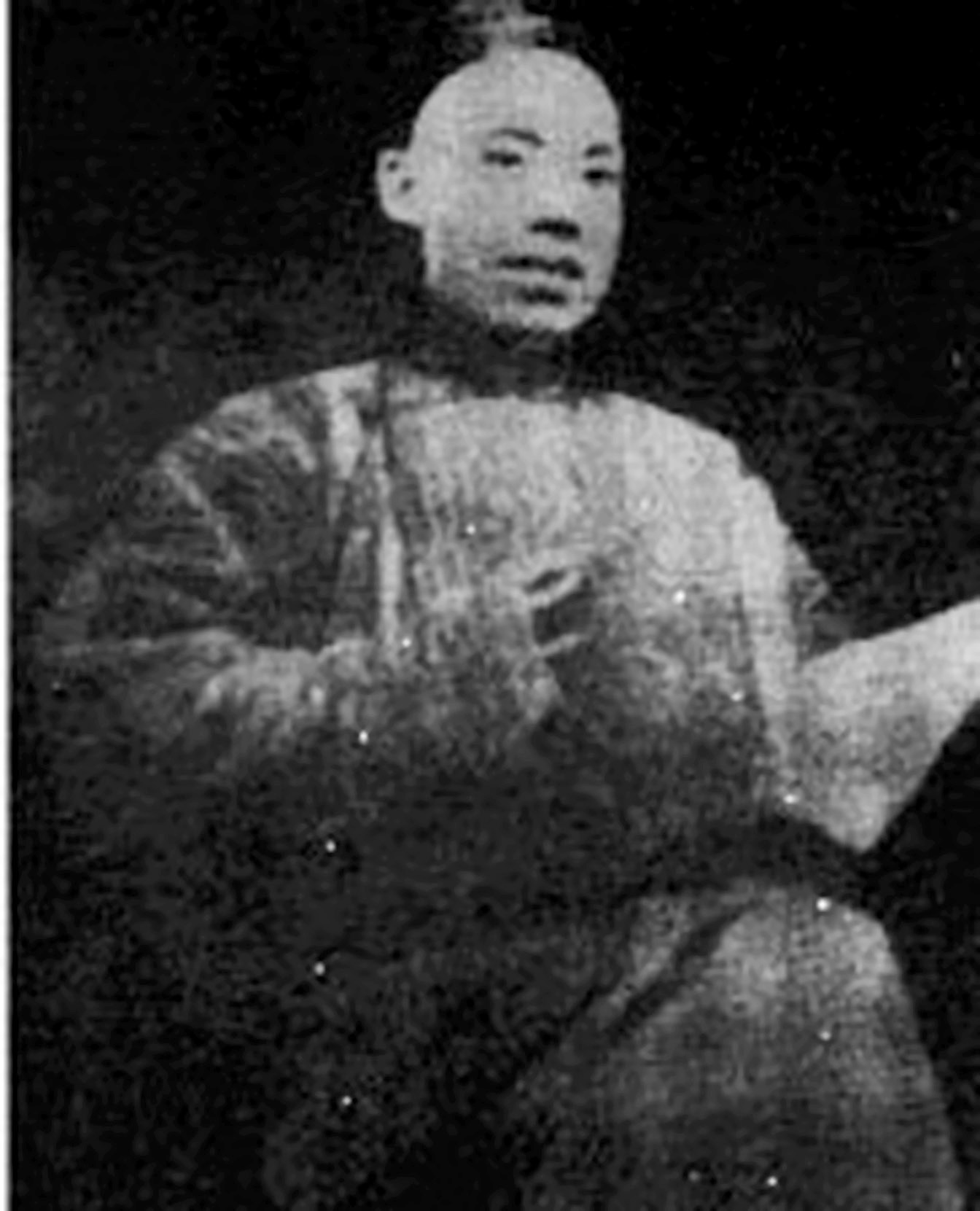 Yang Shenxiu, a politician during the late Qing Dynasty, who played an important role in the Hundred Days' Reform