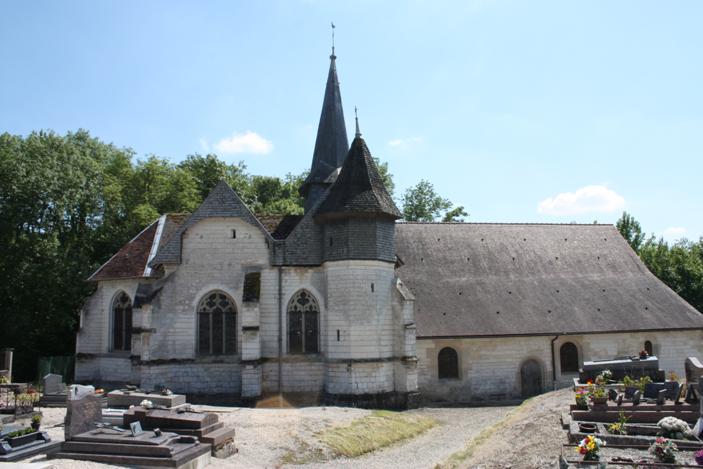 Église Saint-Ouen de Saint-Ouen-Domprot (Classé)