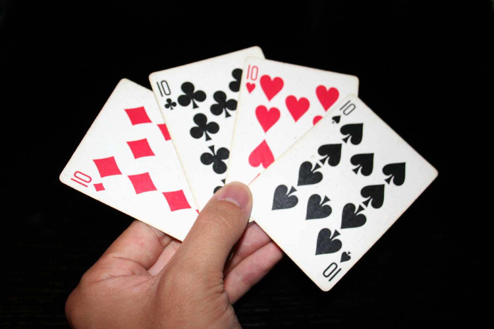 Description 10 playing cards