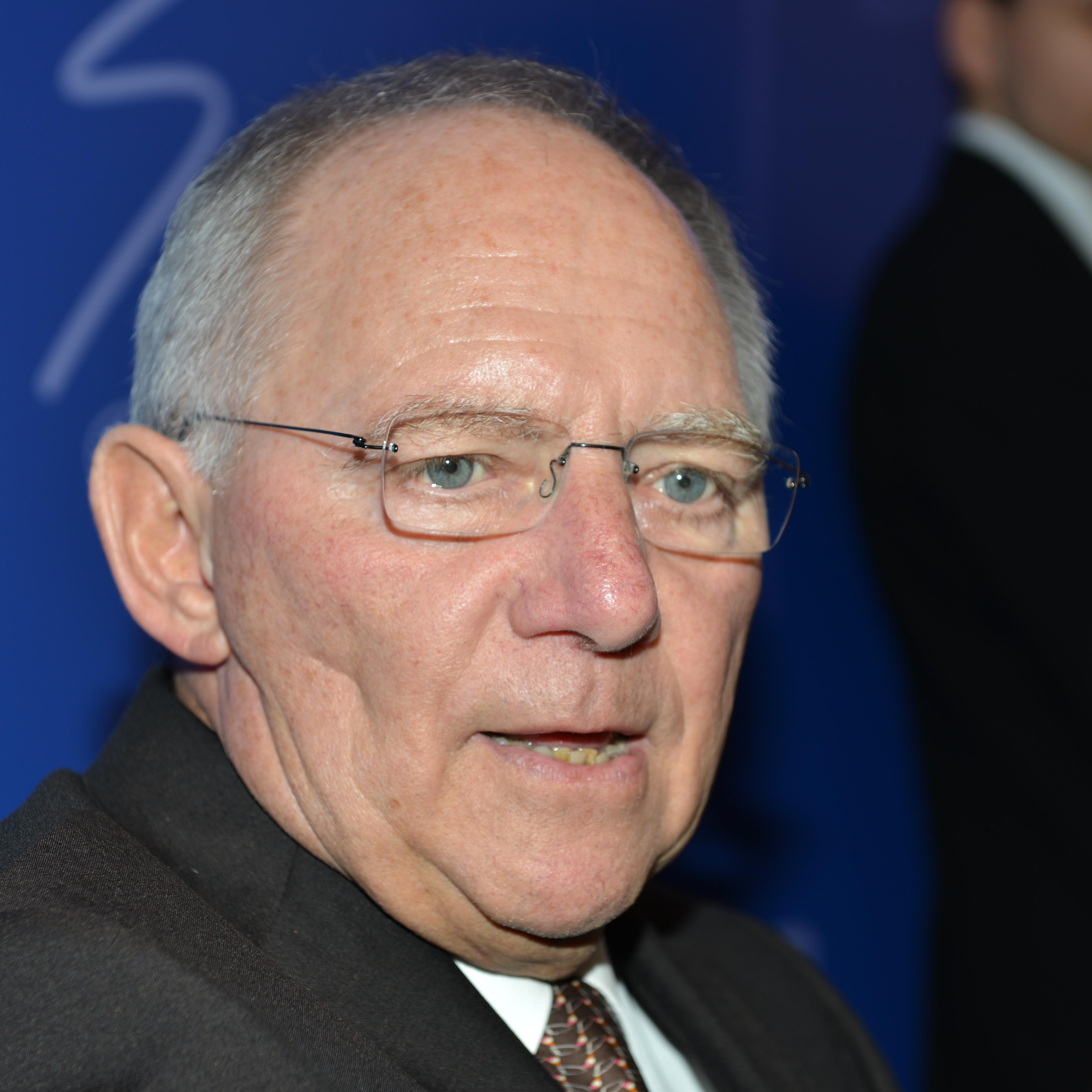 Wolfgang Schäuble Größe