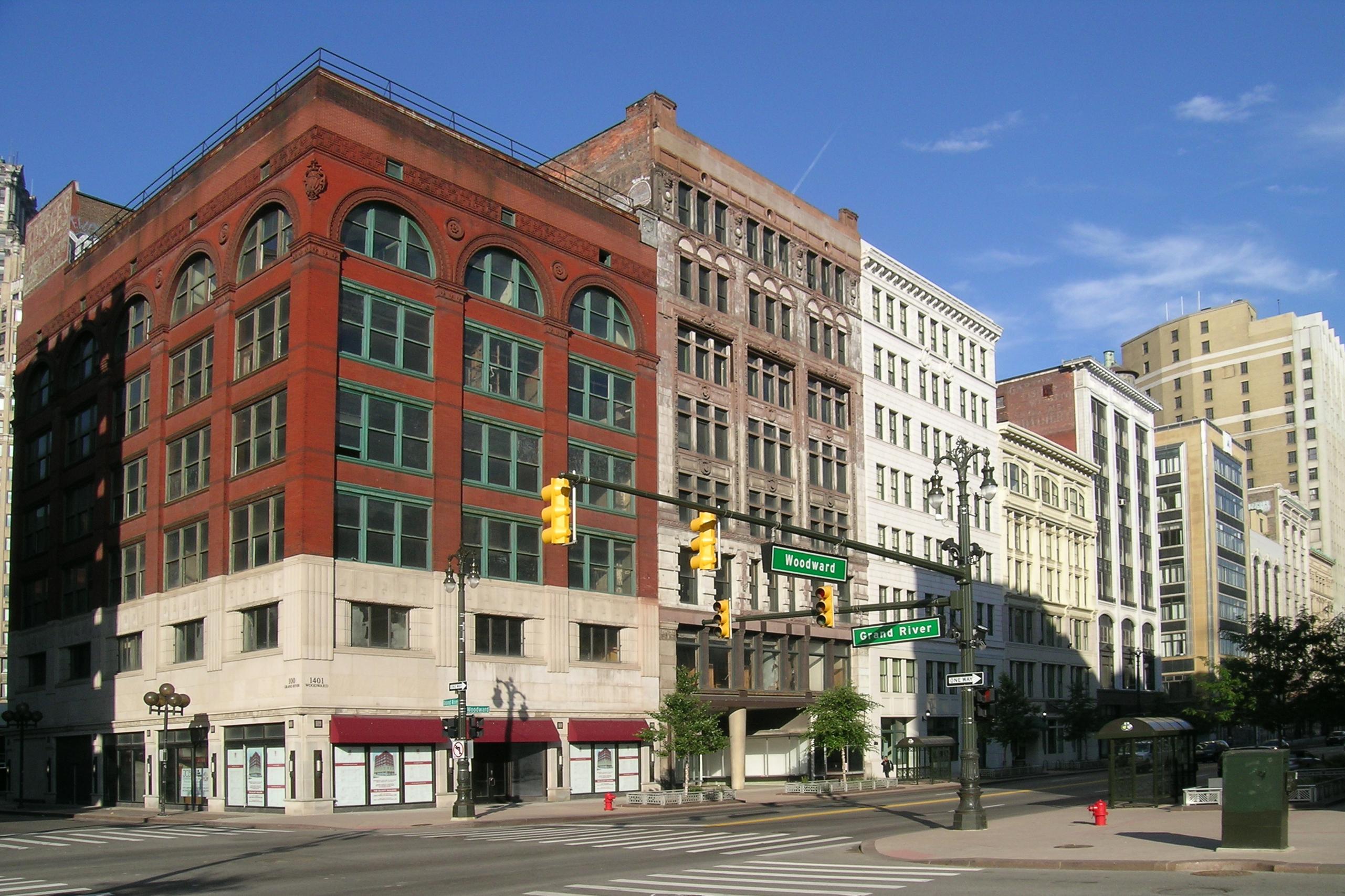 Park Apartments Downtown Detroit