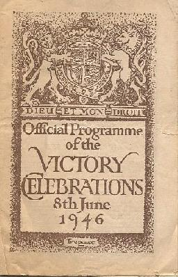 The Official Programme of the Victory Celebrat...