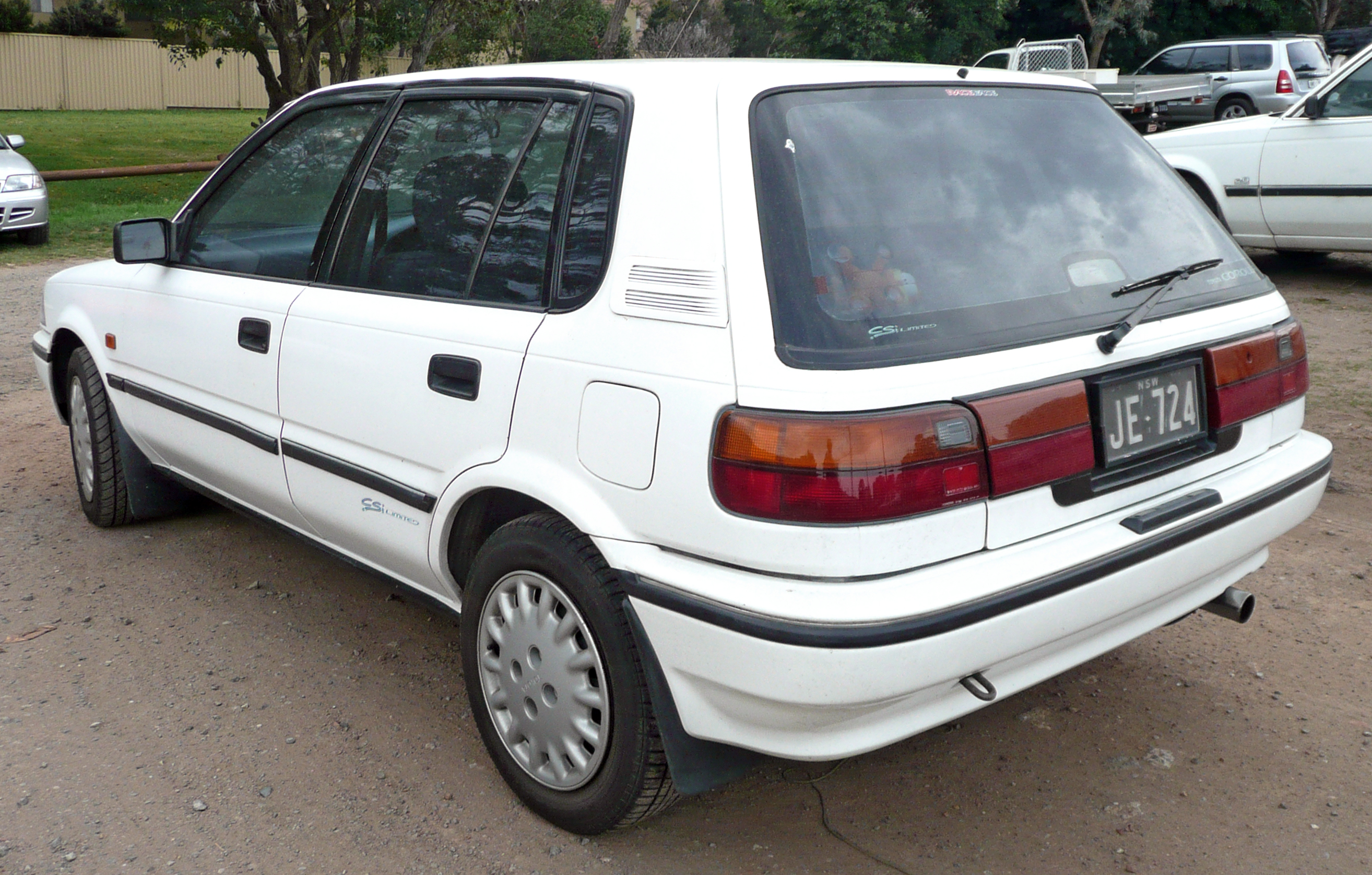 1992 Toyota Corolla 1 3 Hatchback Related Infomation