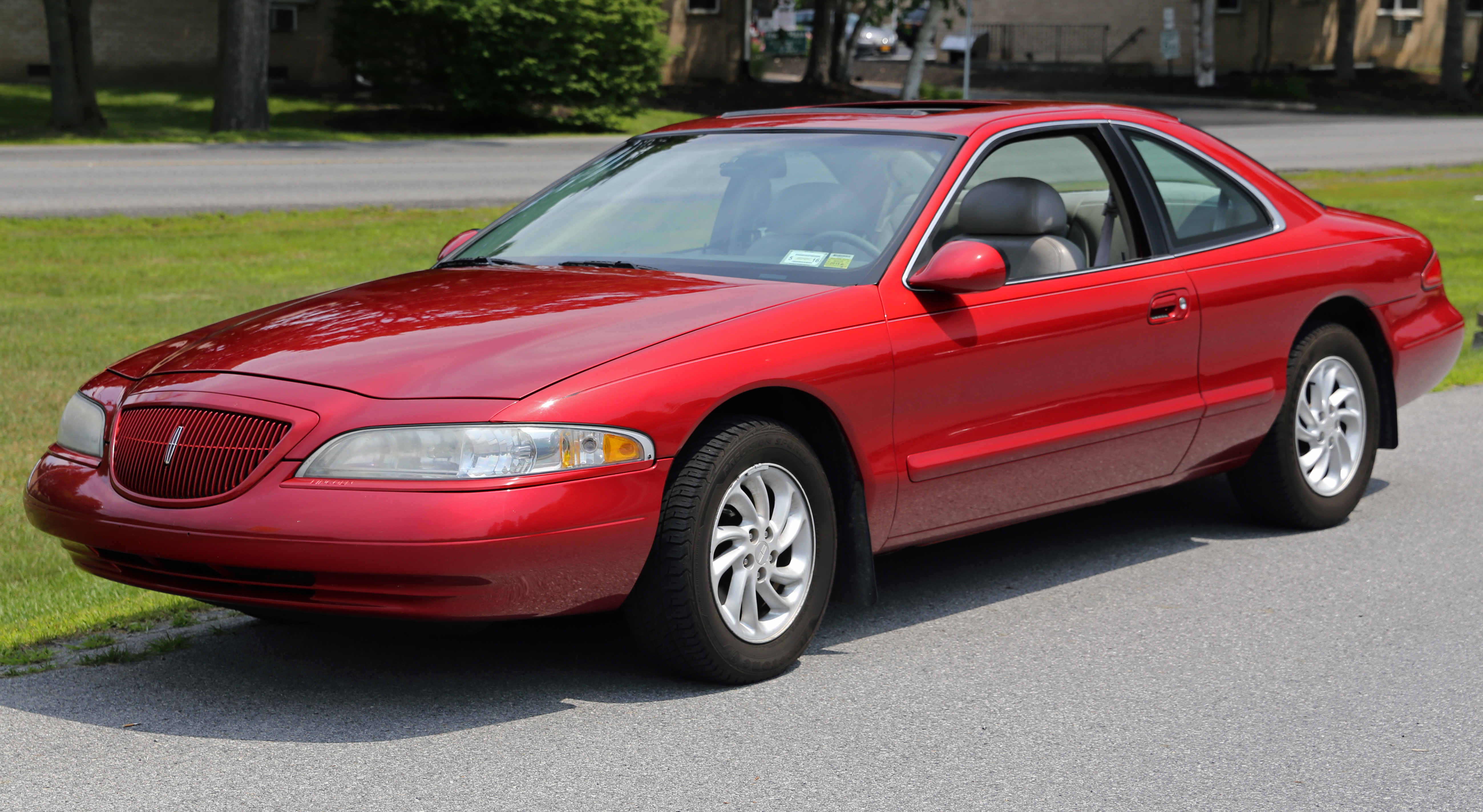 File 1998 Lincoln Mark Viii Lsc In Red Front Left Jpg