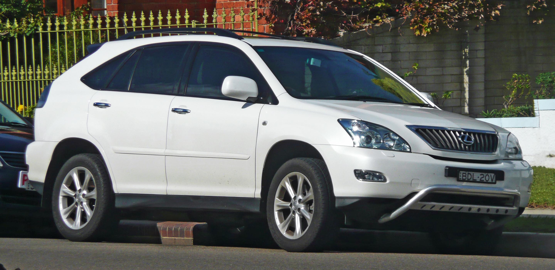 File:2007-2008 Lexus RX 350 (GSU35R) Sports Luxury wagon 01.jpg ...