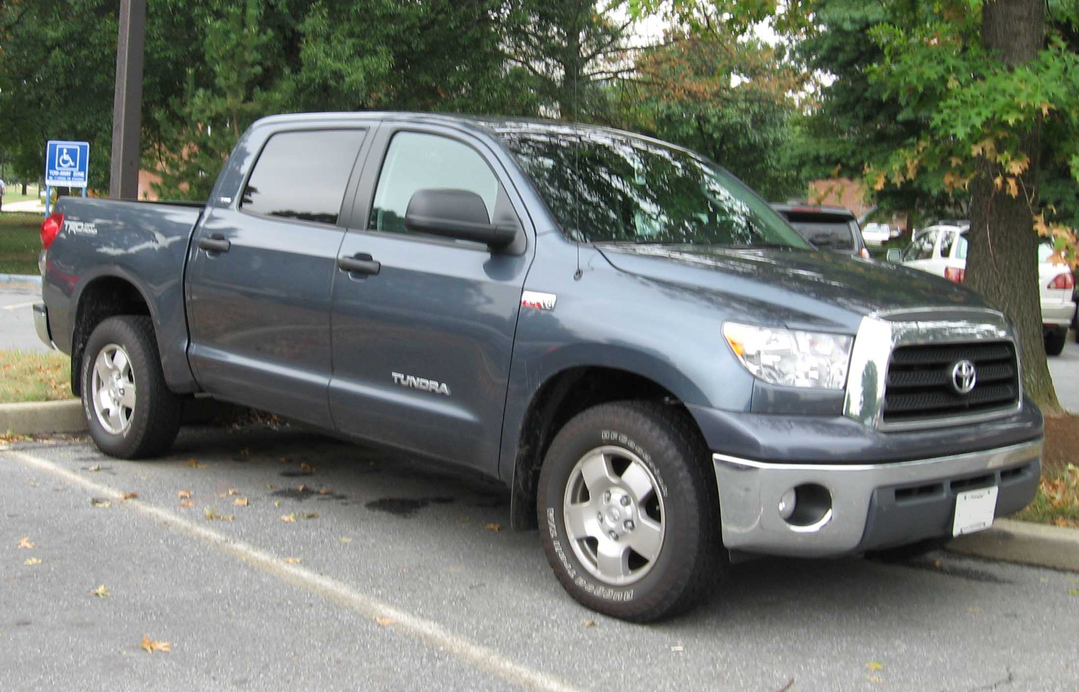 Five Types of Toyota Tundra Trim Models Available