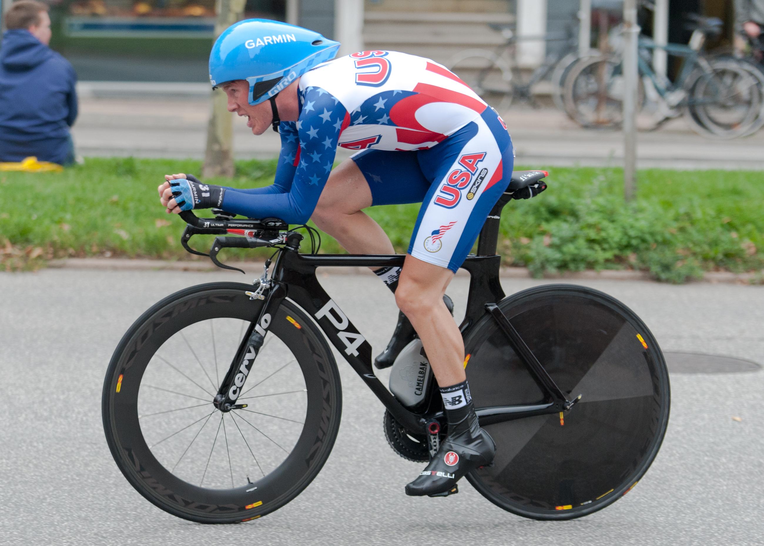 2011 UCI Road World Championship Andrew Talansky