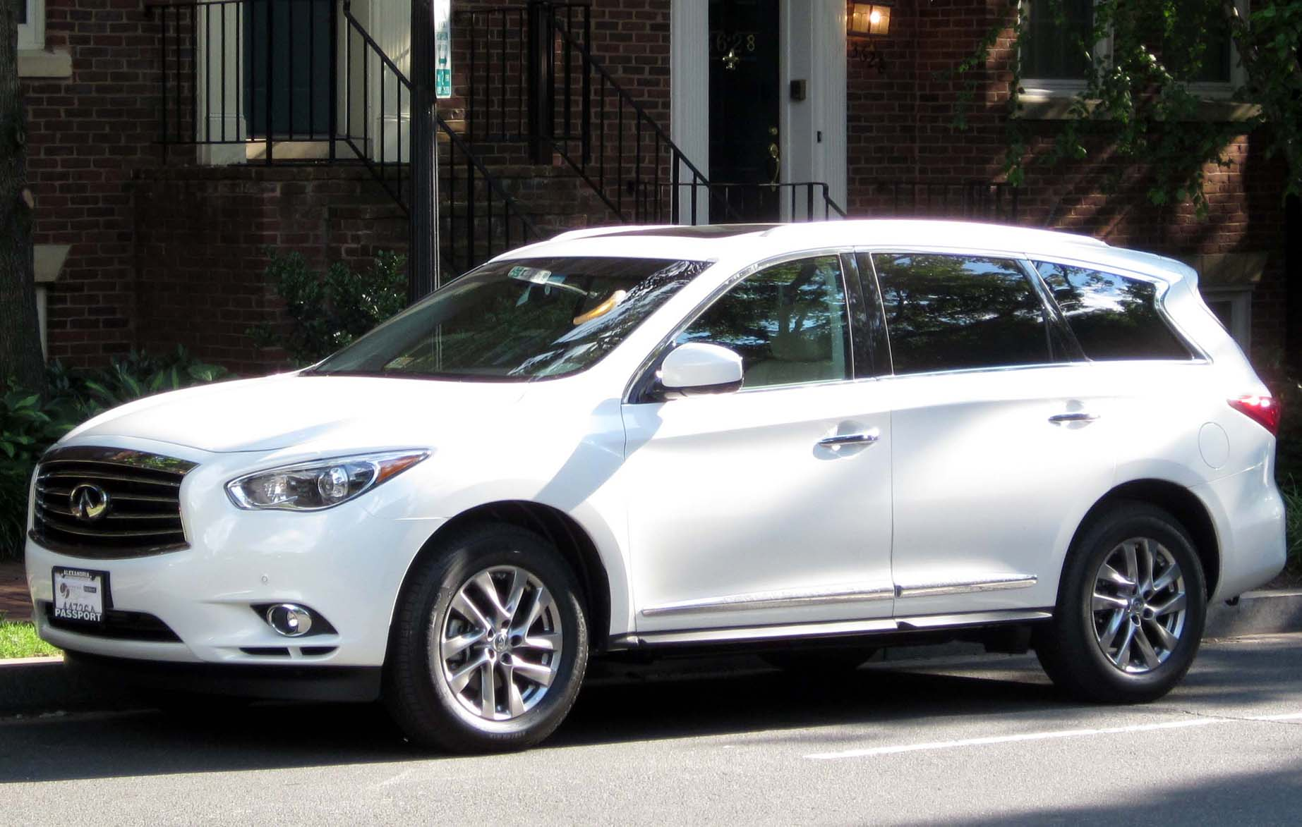 2020 Infiniti QX60 Limited Release Date, Specs And Price >> Infiniti Qx60 Wikipedia