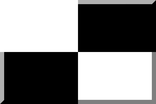 Bianco e nero - Tappeto bianco e nero ...